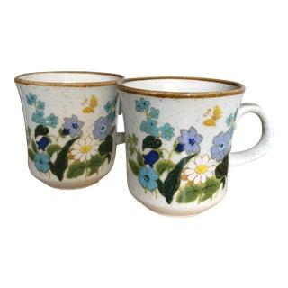 Vintage Mikasa Cups - A Pair