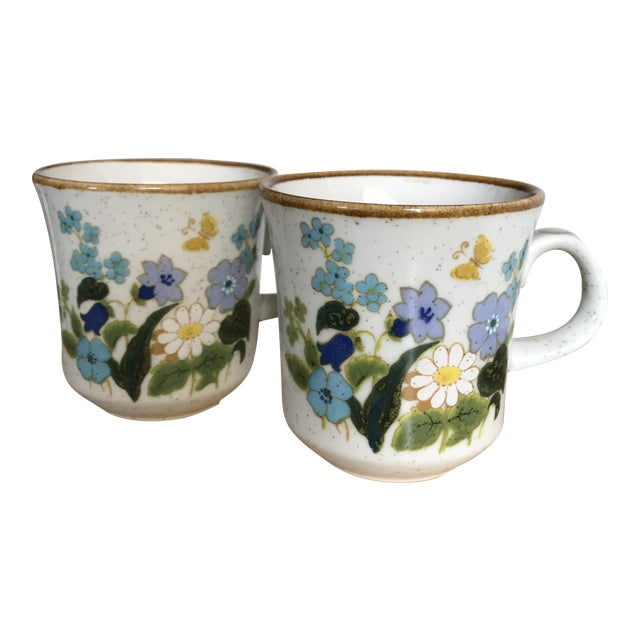 Image of Vintage Mikasa Cups - A Pair