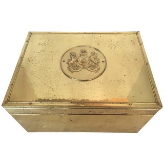 English Brass Box
