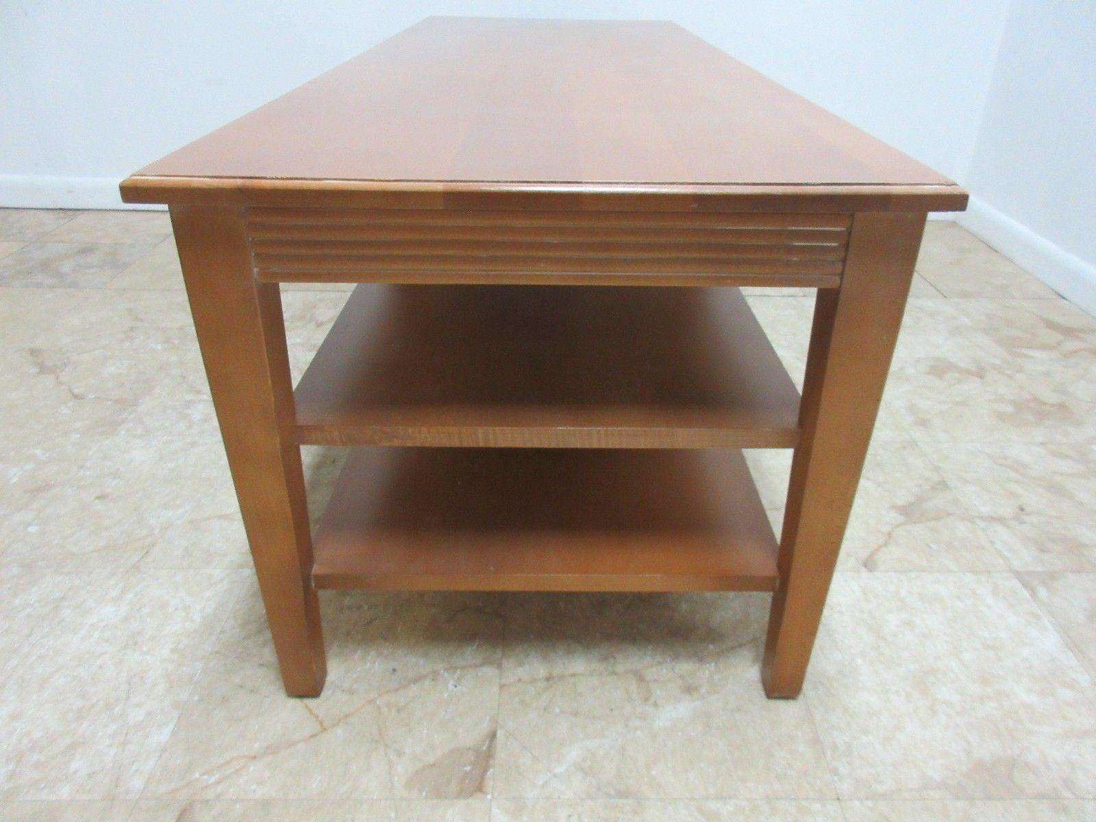 Ethan Allen Swedish Home Long Coffee Table   Image 4 Of 8