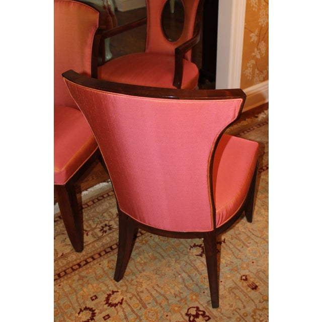 Barbara Barry Realized by Henredon Chairs - Set of 8 - Image 7 of 9