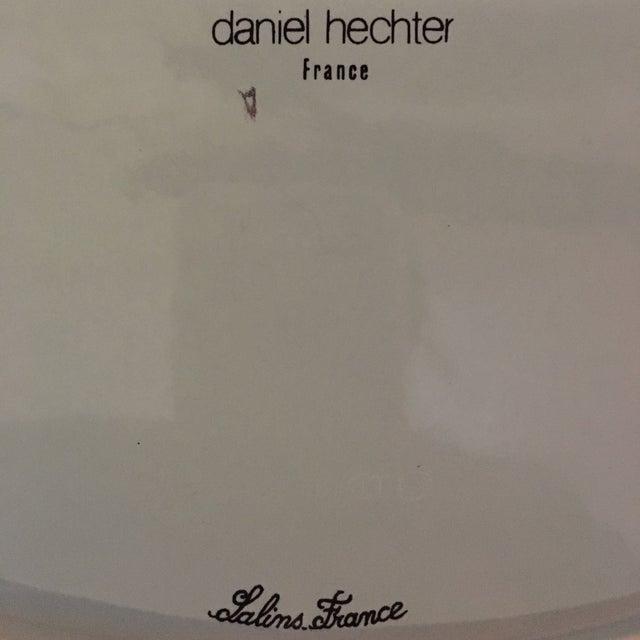 Image of Teal Platter by Daniel Hechter for Salins France