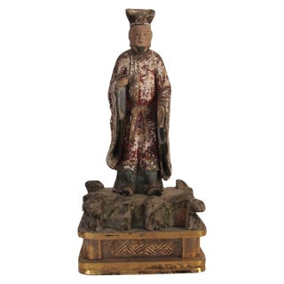 19th Century Chinese Wood Sculpture