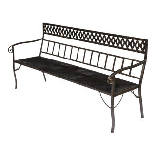 Sarreid Ltd Iron Bench