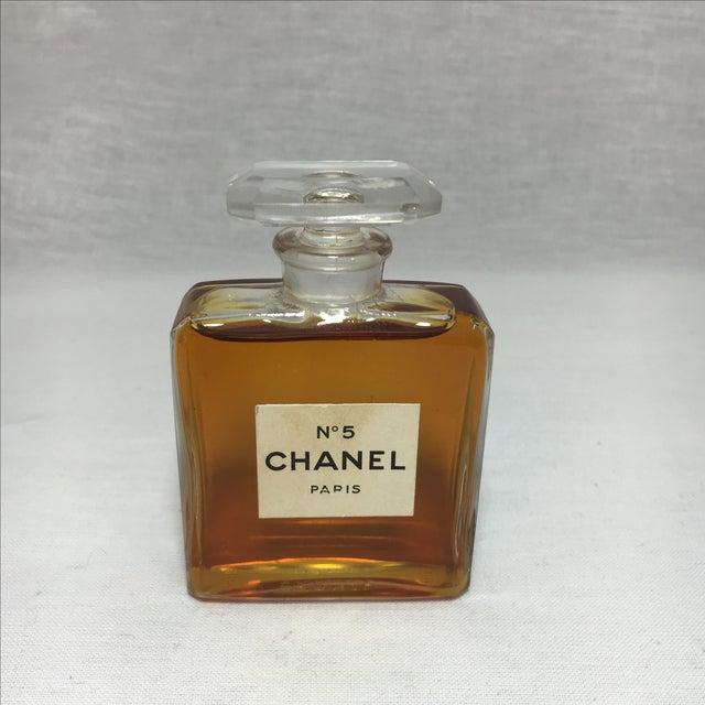 Vintage Chanel No 5 Paris Perfume Bottle - Image 2 of 4