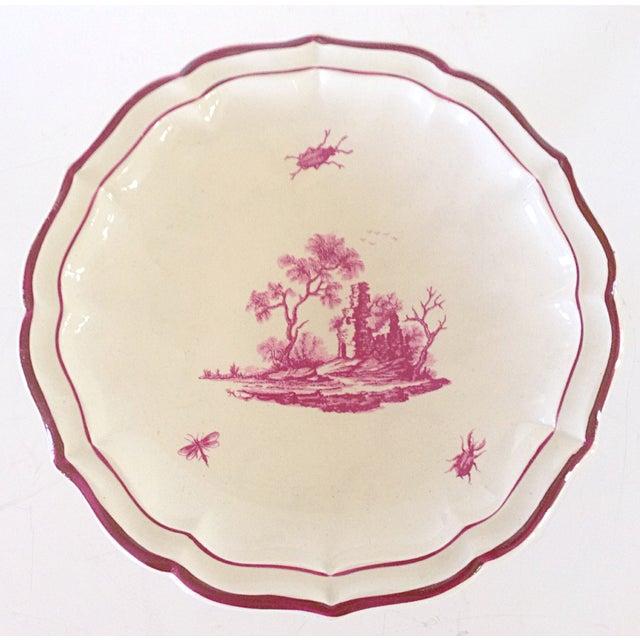 19 C. Gien Pedestal Serving Plate - Image 3 of 4