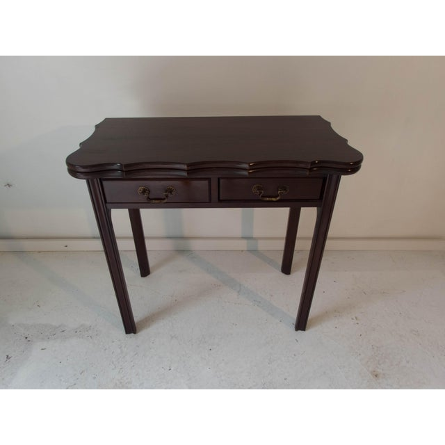 Image of Vintage Mahogany Game Table