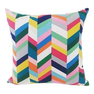 Handmade Colorful Geometric Pillow