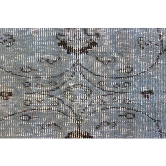 Vintage Overdyed Turki̇sh Rug - 5′8″ × 9′4″ - Image 7 of 8