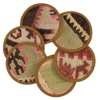 Deniz Kilim Coasters - Set of 6
