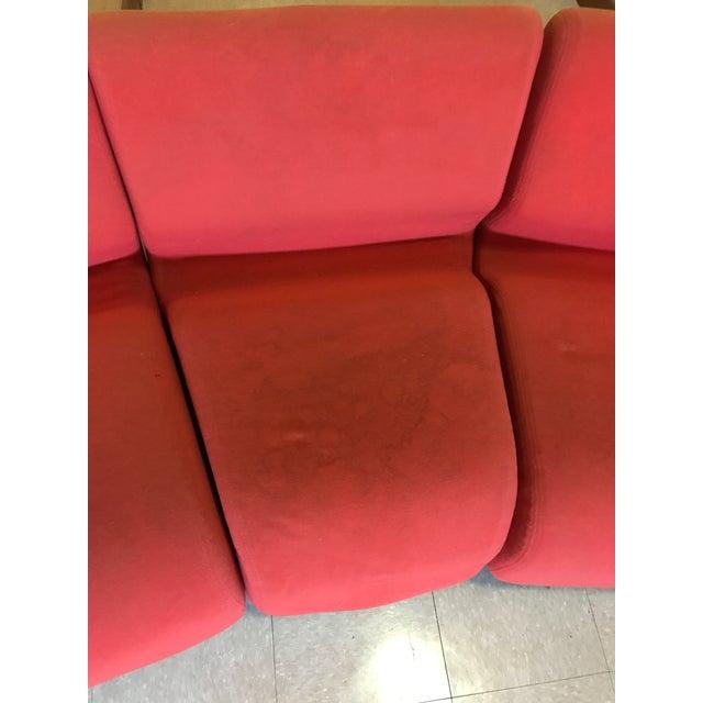 Orange Herman Miller Chadwick Modular Seating - Image 6 of 11