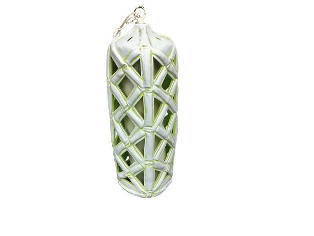 Vintage Mid-Century Bamboo Pendant