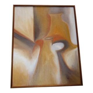 Helen Oji Original Abstract Still Life Painting