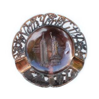 Vintage Copper Nyc Souvenir Catchall