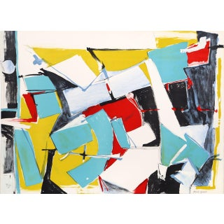 "Jasha Green, ""Untitled 15,"" Lithograph"