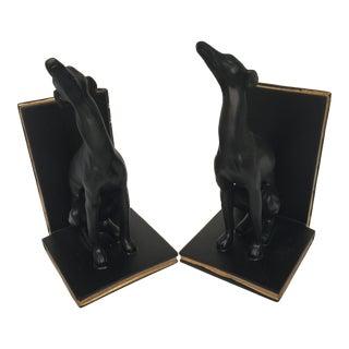 Whippett Dog Bookends - Pair
