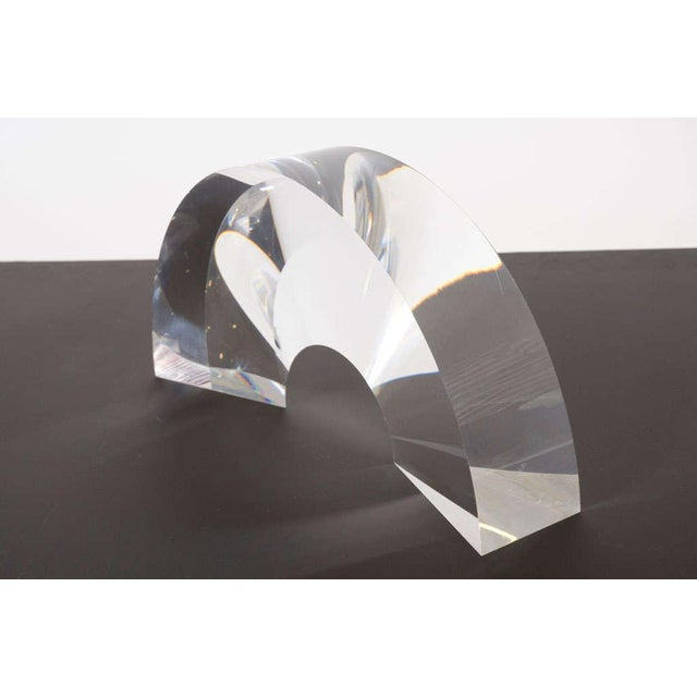 Acrylic Arch Sculpture by Alessio Tasca - Image 6 of 6