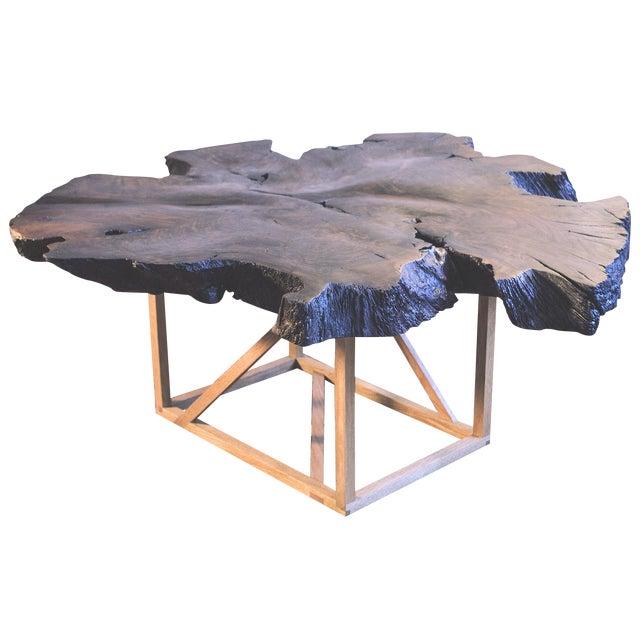 Black Walnut Root Burl Coffee Table - Image 1 of 10