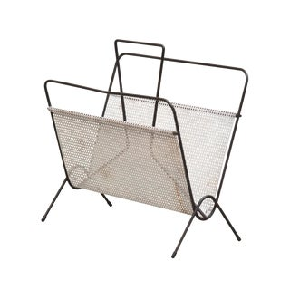 Pilastro Attr. Perforated Metal Magazine Stand