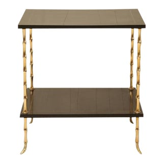 Maison Jansen Attributed Bamboo End Table