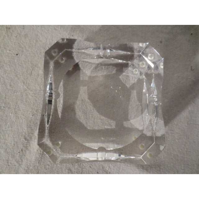 Clear Crystal French Ash Tray - Image 5 of 5
