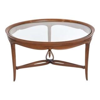 Fine Art Deco Mahogany and Glass Low Table, Paul Follot