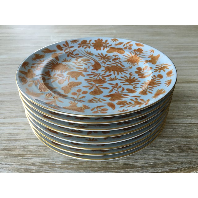 Mottahedeh Bird Butterfly Salad Plates - Set of 5 - Image 3 of 6