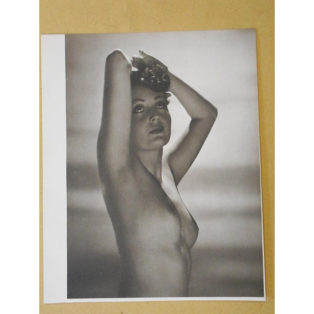 Vintage Nude Parisian Women Photogravure - Image 3 of 3
