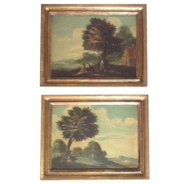Pair of 19th Century Italian Landscapes - Image 9 of 9