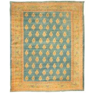 Exceptional Antique 19th Century Turkish Borlu Carpet