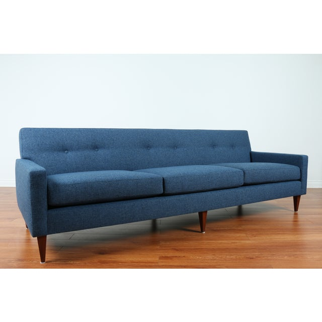 1960's Refinshed And Reupholstered Sofa - Image 3 of 9