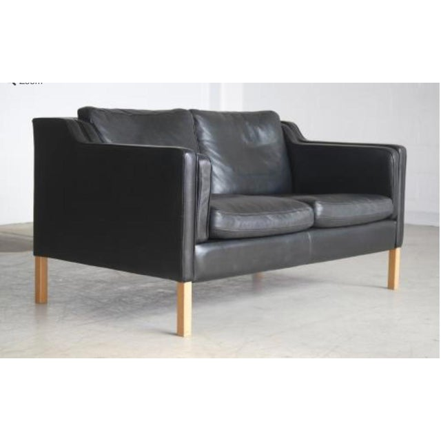 Image of Børge Mogensen Danish Modern Two-Seat Sofa