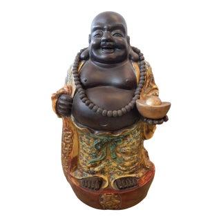 LG Famille Jaune Porcelain Happy/Laughing Buddha