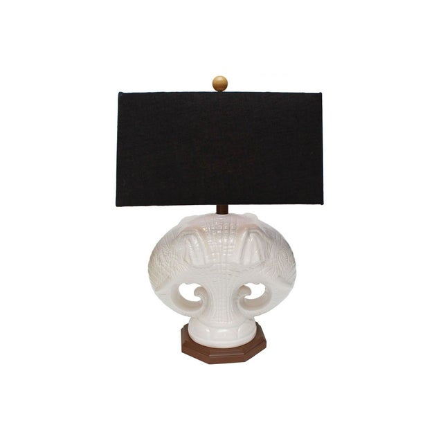 Double Elephant Lamp - Image 1 of 4