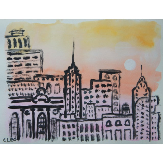 New York Cityscape Skyline by Cleo - Image 2 of 3