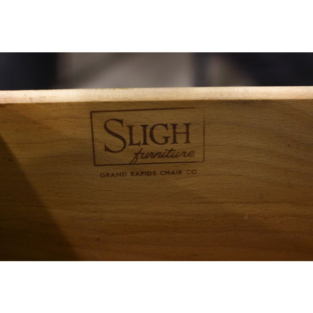 Sligh Eight-Drawer Wooden Dresser - Image 4 of 5