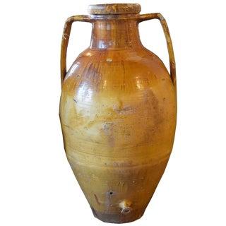 19th Century Italian Olive Oil Vessel