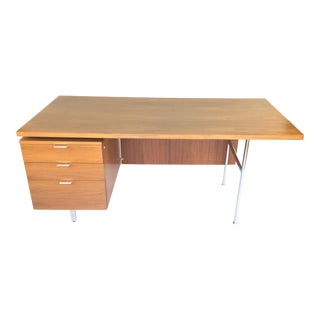 George Nelson for Herman Miller Walnut Eog Desk