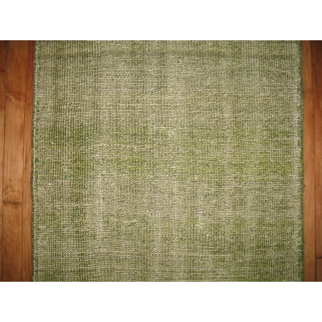 Green Over-dye Turkish Runner - Image 5 of 5