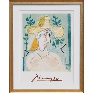 """Pablo Picasso """"Femme a La Collerette"""" Lithograph"""