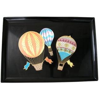 Couroc of Monterey Hot Air Balloon Tray