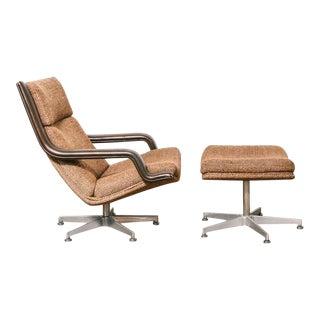 Geoffrey Harcourt Lounge Chair & Ottoman