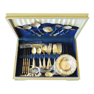 1930s Antique Silverware Set
