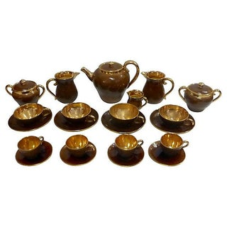 Italian Tea Service Set by Zaccagnini - 22 Pieces