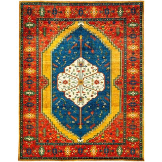 """Ziegler Hand Knotted Area Rug - 9'1"""" X 11'7"""""""