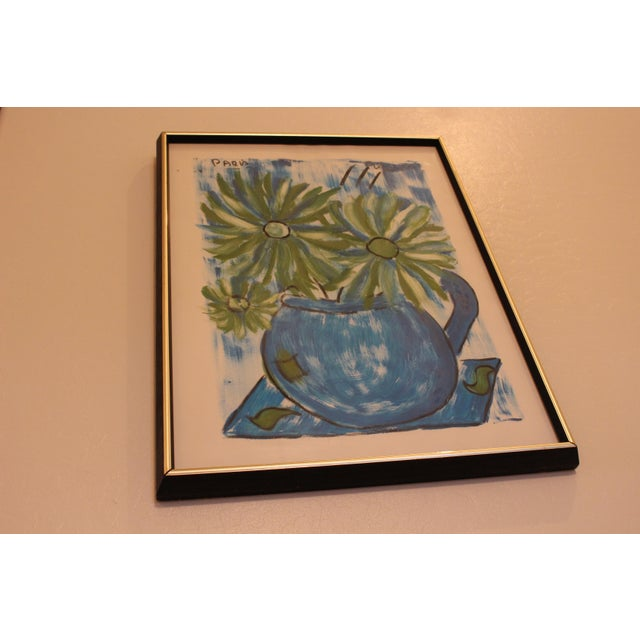 Francois Paris Mid-Century Original Still Life Painting - Image 4 of 11