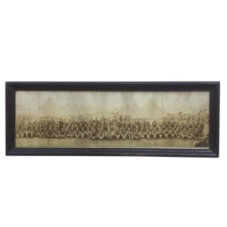 1918 Soldiers at Camp Photo