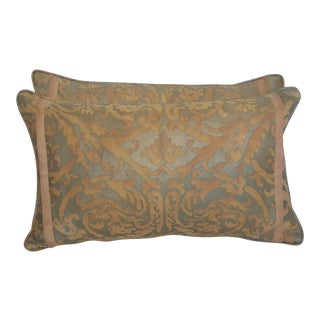 Fortuny Damask Lumbar Pillows - A Pair