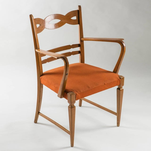 Armchair by Paolo Buffa by Marelli - Image 5 of 10