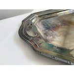Image of Vintage Silver Tray & Decanters - Set of 4